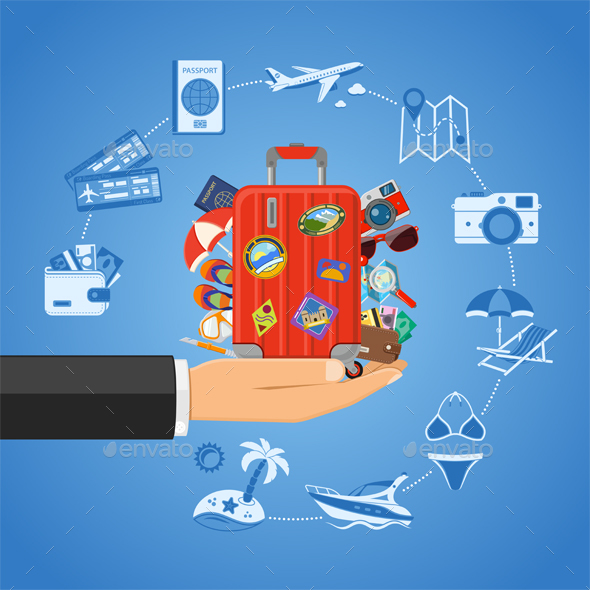 Vacation and Tourism Concept - Travel Conceptual