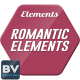 Romantic Elements & Titles - VideoHive Item for Sale
