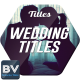 Wedding Titles - Colored - VideoHive Item for Sale