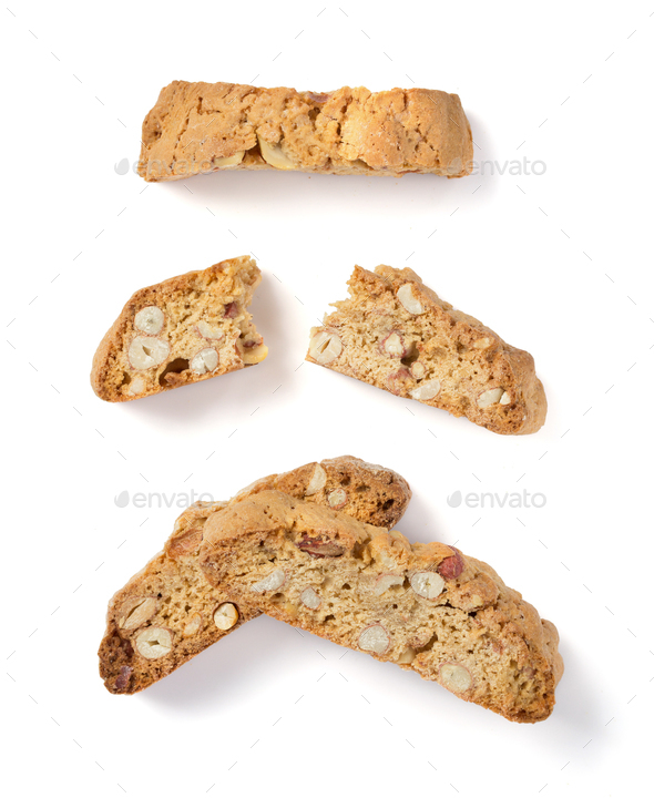 cookies isolated on white - Stock Photo - Images