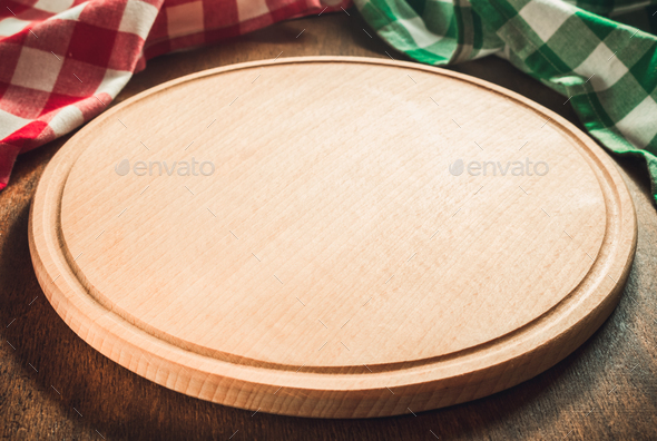 pizza cutting board - Stock Photo - Images