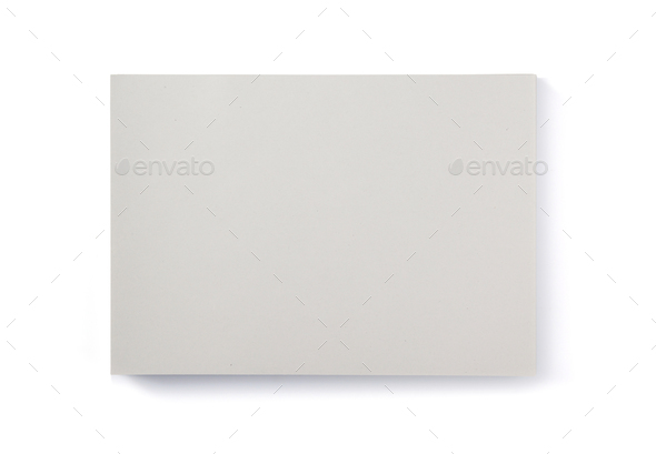 sheet of paper isolated on white - Stock Photo - Images
