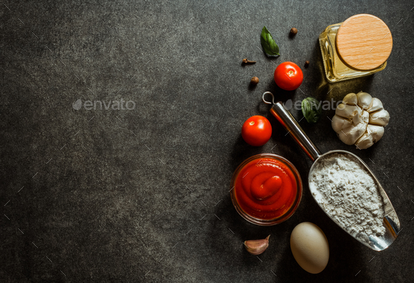 food spice and herbs - Stock Photo - Images