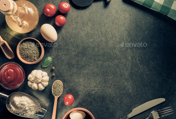 spice and herbs ingredients - Stock Photo - Images