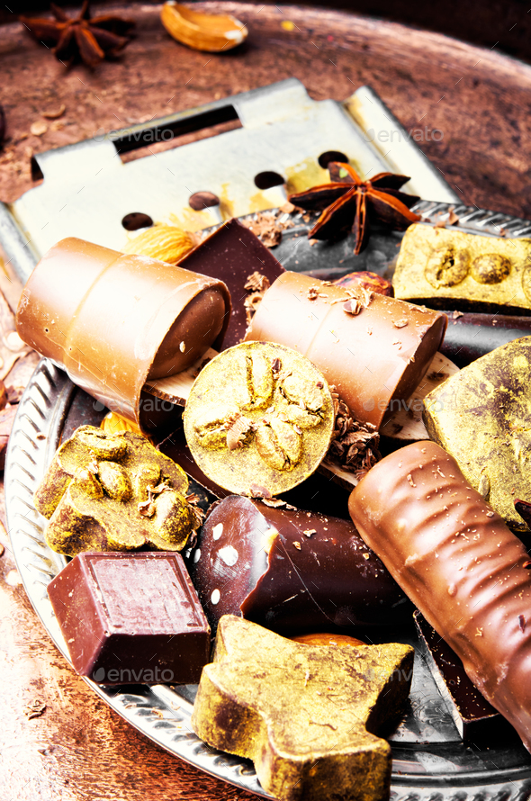 Set of luxury sweets - Stock Photo - Images