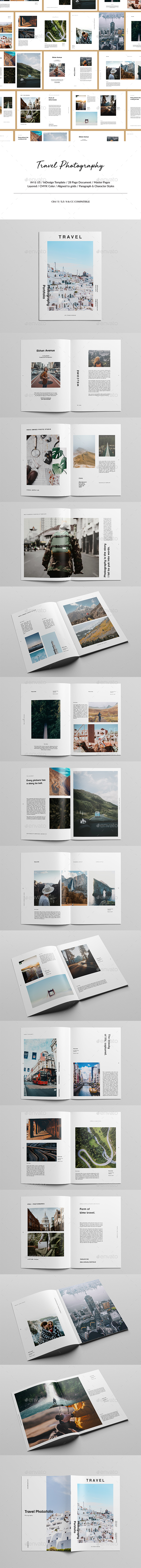 Travel Photography Portfolio - Portfolio Brochures
