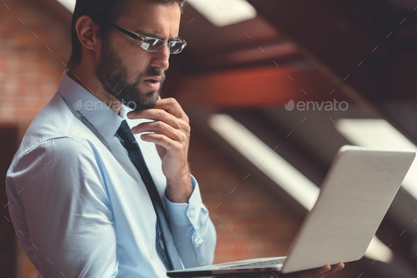 Professional at work - Stock Photo - Images