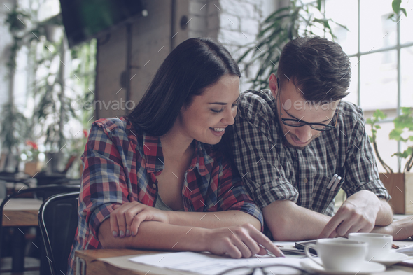 Happy young people - Stock Photo - Images
