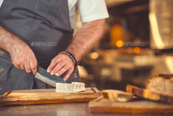 Cook preparation indoors - Stock Photo - Images