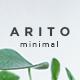 Arito Minimal Design Google Slide Template - GraphicRiver Item for Sale