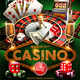 Casino Flyer Template - GraphicRiver Item for Sale