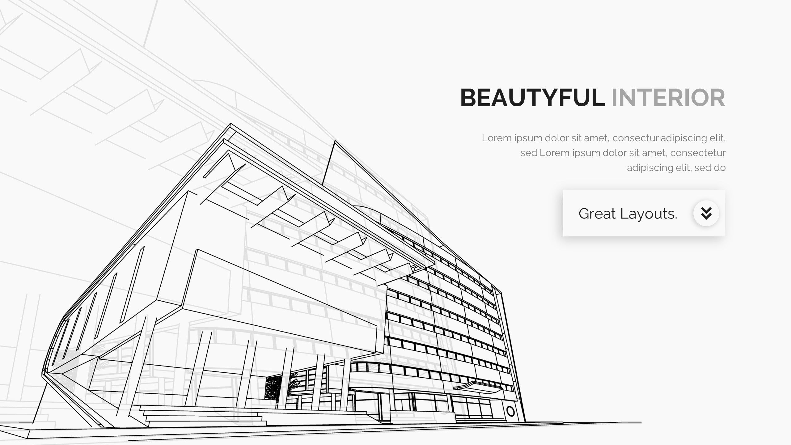 Architecture Interior and Construction Design Powerpoint Template