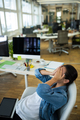 Frustrated female business executive at desk - PhotoDune Item for Sale