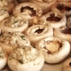 Stuffing Mushroom Caps with Minced Meat - VideoHive Item for Sale