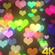 Colorful Valentine Hearts 4k - VideoHive Item for Sale