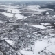 Deserted City Covered in Snow - VideoHive Item for Sale