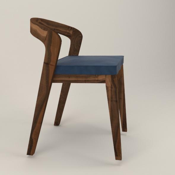 Scandinavian chair - 3DOcean Item for Sale