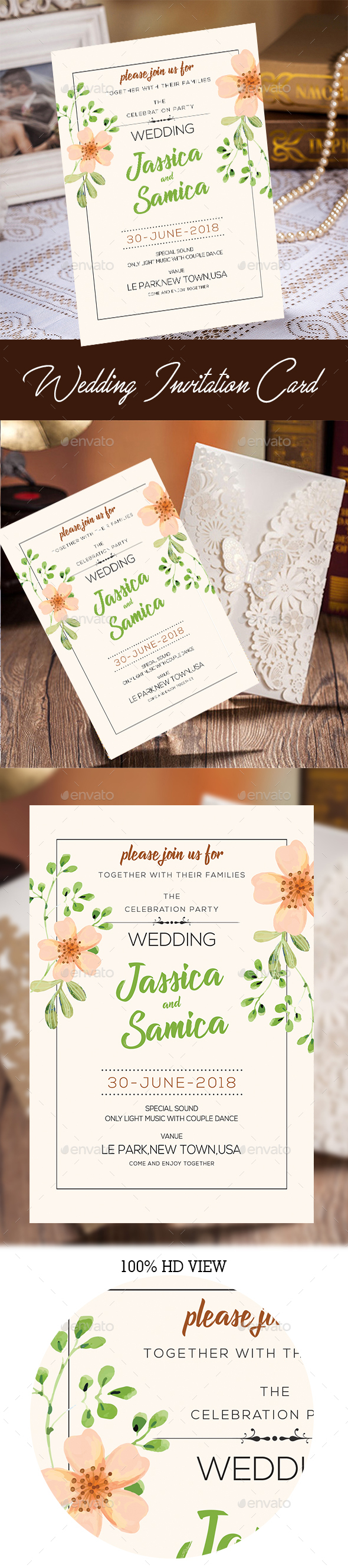 Wedding Invitation - Invitations Cards & Invites