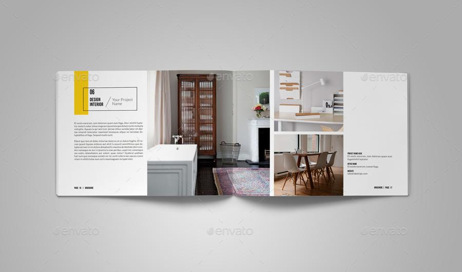 A5 Lanscape Portfolio / Brochure Bundle By Alhaytar