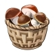 Wicker Basket with Mushrooms - GraphicRiver Item for Sale