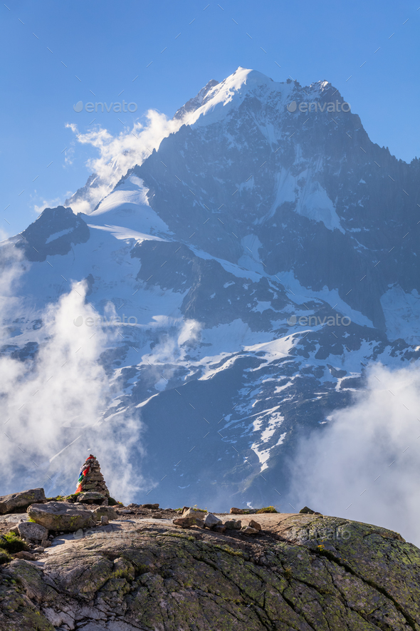 Mont Blanc, France - Stock Photo - Images