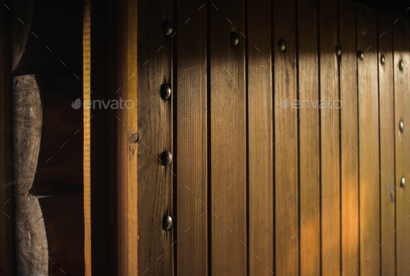 wooden cabin  - Stock Photo - Images