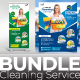 Cleaning Service Bundle - GraphicRiver Item for Sale