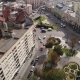 Aerial View of Lviv Old City Buildings and Traffic - VideoHive Item for Sale
