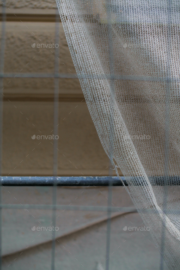 details of  accessories of a urban construction - Stock Photo - Images