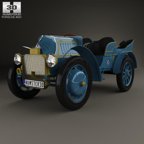 Porsche-Lohner Mixte Hybrid 1900