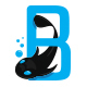 Black Fish Logo