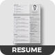 gray resume - GraphicRiver Item for Sale