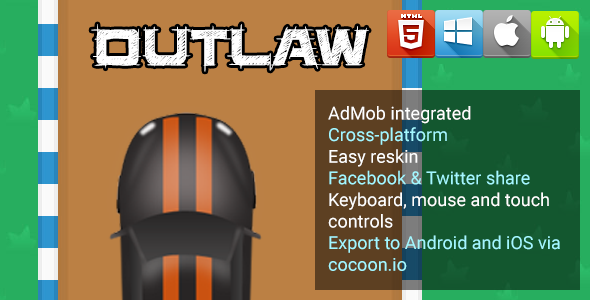 Outlaw - HTML5 Game - Phaser - CodeCanyon Item for Sale