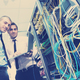 it enineers in network server room - PhotoDune Item for Sale