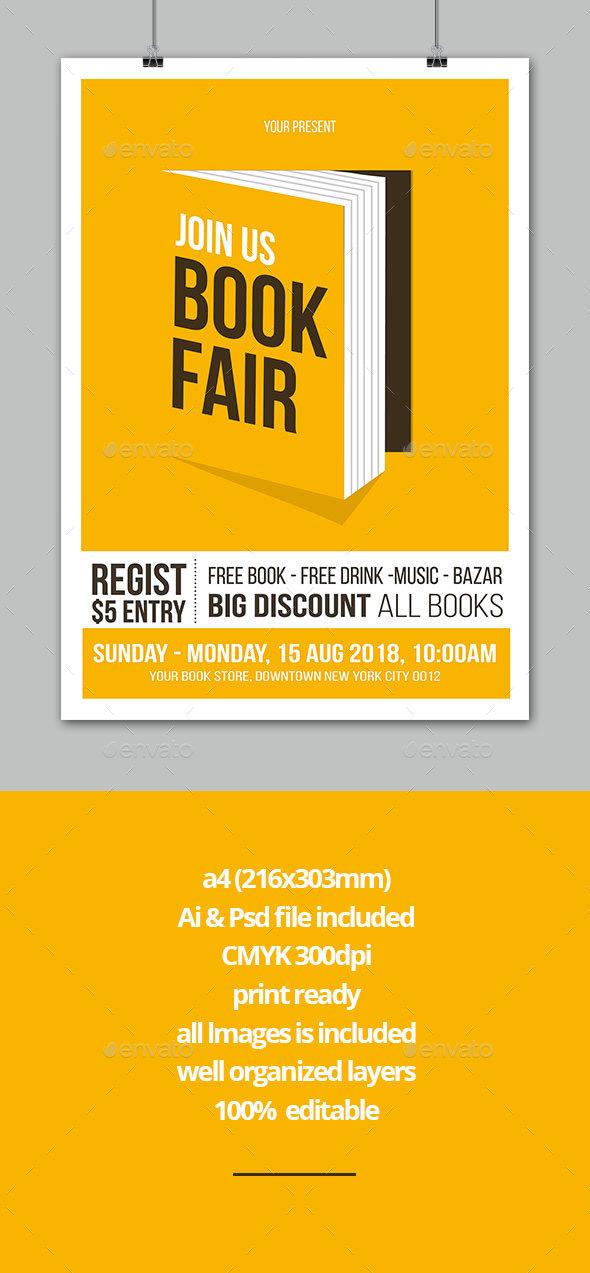 Book Fair Flyer - Events Flyers