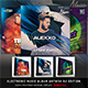 Electro Music Album Artworks CD/DVD Template Bundle Vol.1 DJ Edition - GraphicRiver Item for Sale