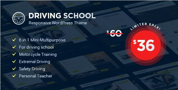 Driving School - WordPress Theme - Education WordPress