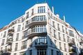 New white apartment house in Berlin - PhotoDune Item for Sale