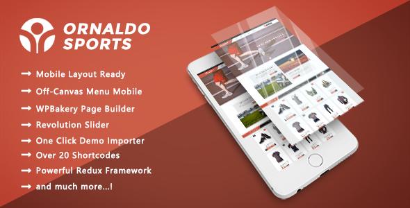 Ornaldo - Sports, Gym & Fitness Responsive WooCommerce WordPress Theme - WooCommerce eCommerce