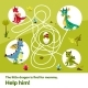 Maze Labyrinth Children Game Vector Cartoon
