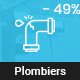 Plombiers – plumber, repair services WordPress Theme