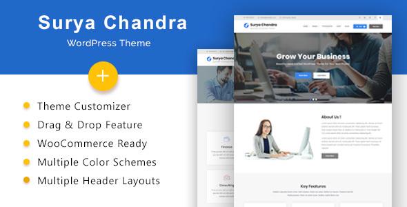 Surya Chandra - Responsive Multi-Purpose WordPress Theme