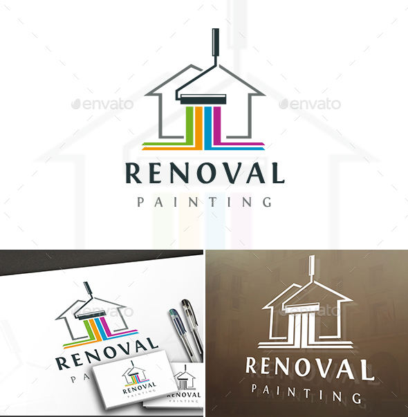Painting House Logo