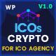 ICOs Crypto - Bitcoin, Cryptocurrency & ICO Landing WordPress Theme - ThemeForest Item for Sale