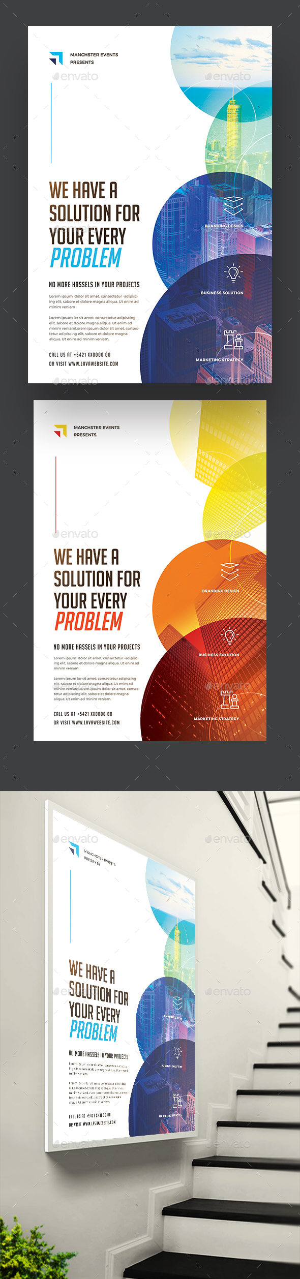 Creative Corporate Flyer / Poster - Corporate Flyers