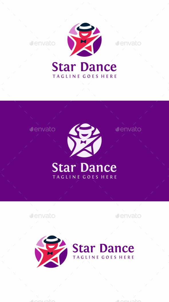 Star Dance Logo - Humans Logo Templates