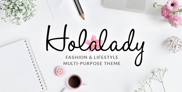 Image of HolaLady - Fashion & Lifestyle Multi-Purpose Theme