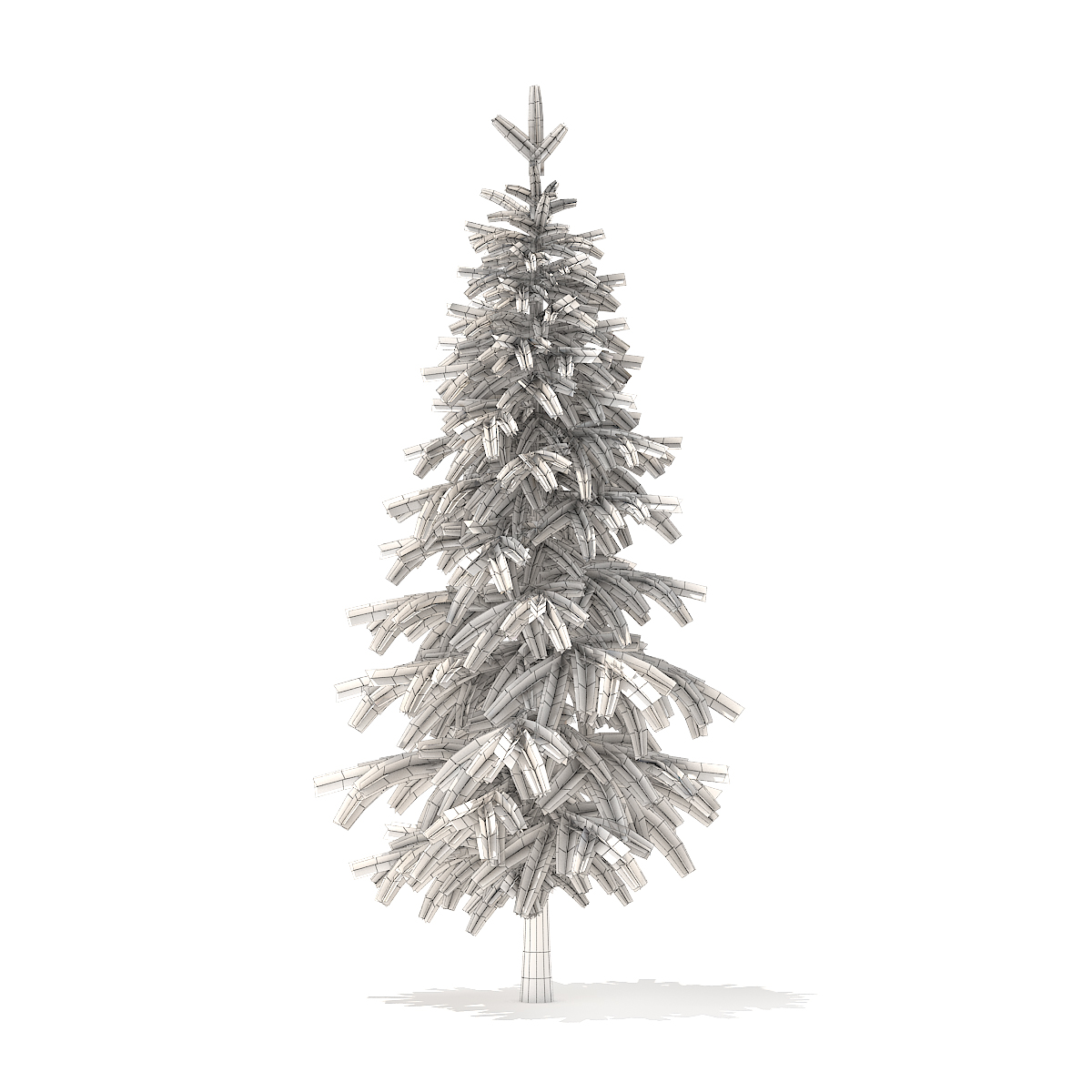 Fir Tree 3D Model 2.6m
