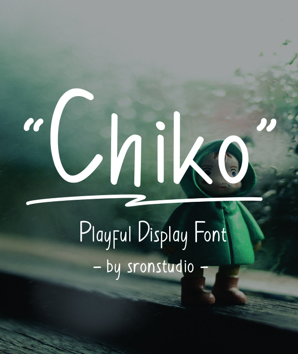 Chiko - Playful Display Font - Comic Decorative