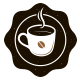 Coffee Emblem Creative Logo